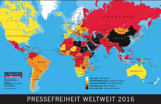 Pressefreiheit Grafik