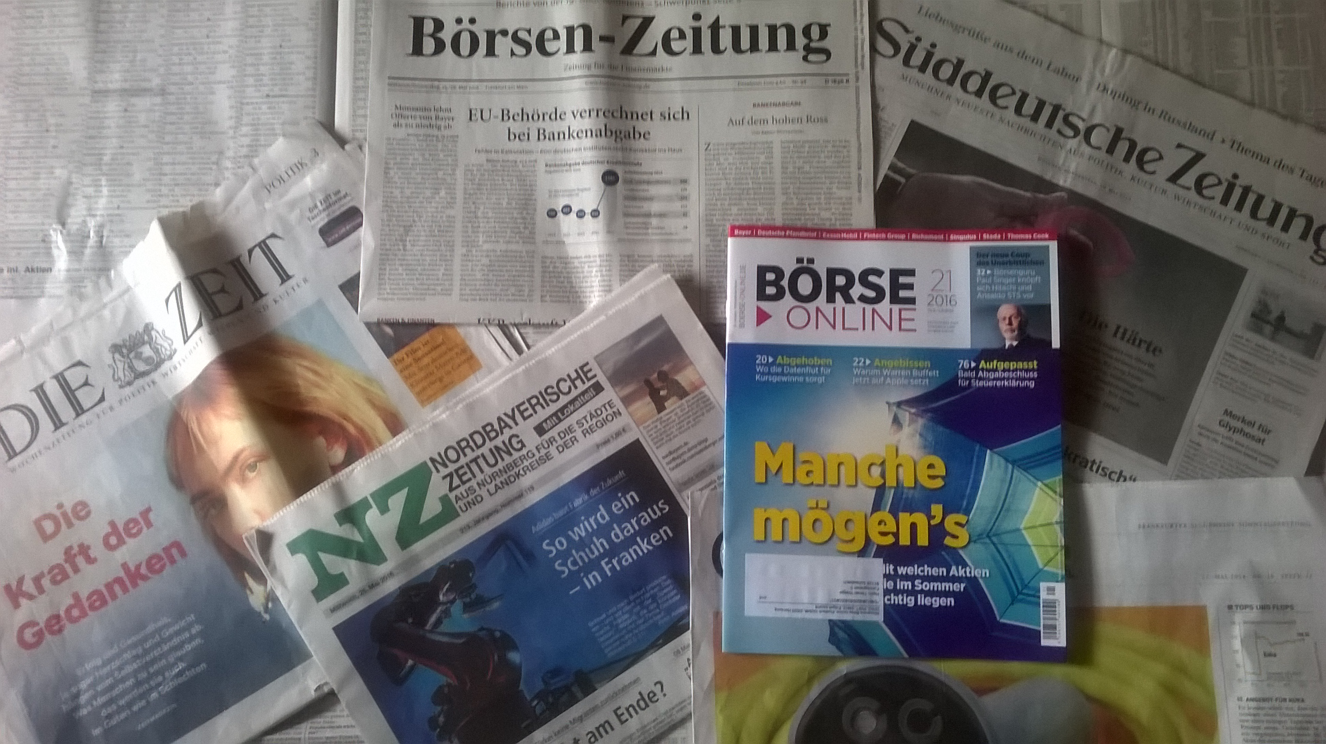 Zeitung Auflage Entwicklung
