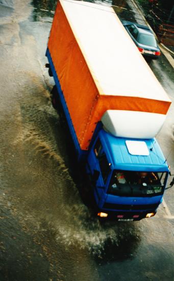 LKW Verkehr Kritik