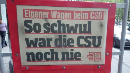 CSU schwul